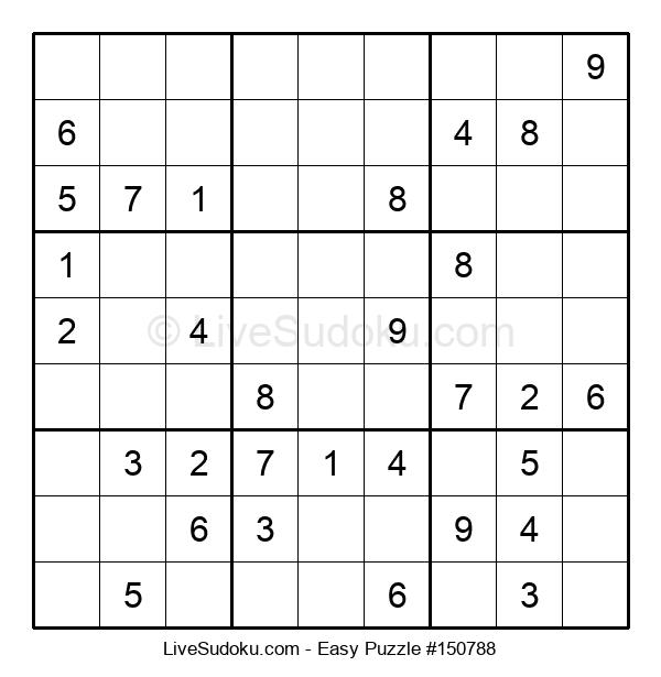 Beginners Puzzle #150788