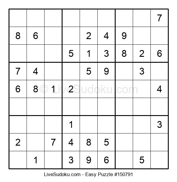 Beginners Puzzle #150791