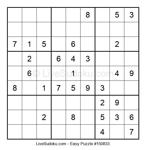 Beginners Puzzle #150833