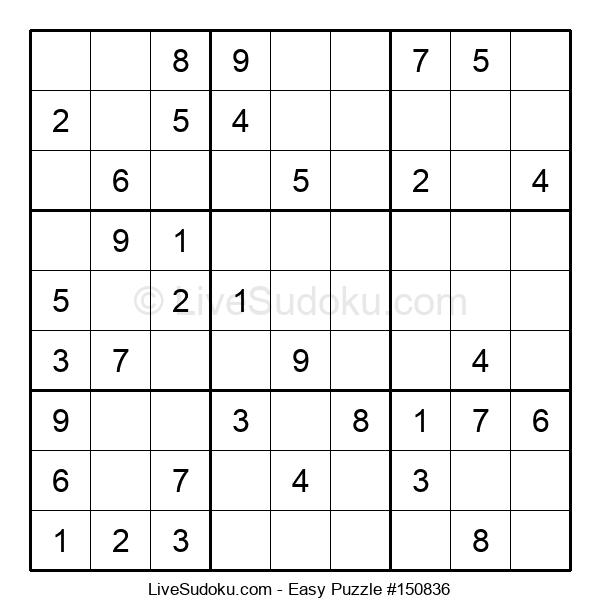 Beginners Puzzle #150836