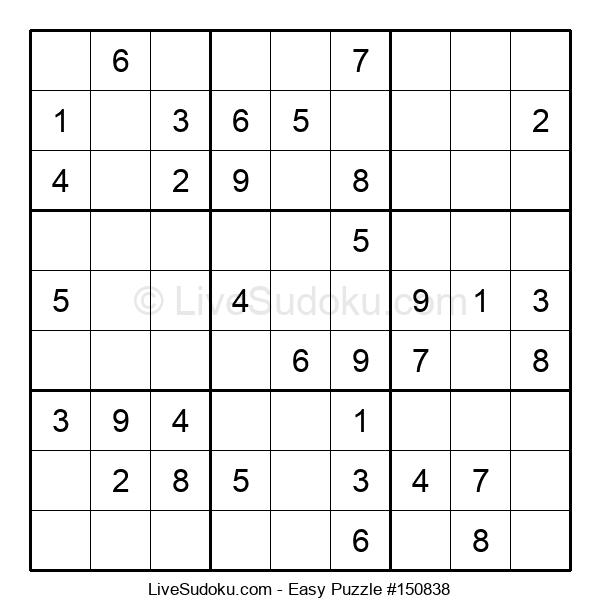 Beginners Puzzle #150838