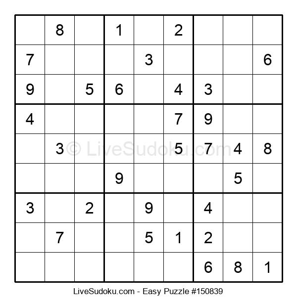 Beginners Puzzle #150839