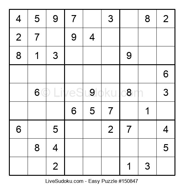 Beginners Puzzle #150847