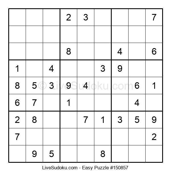 Beginners Puzzle #150857