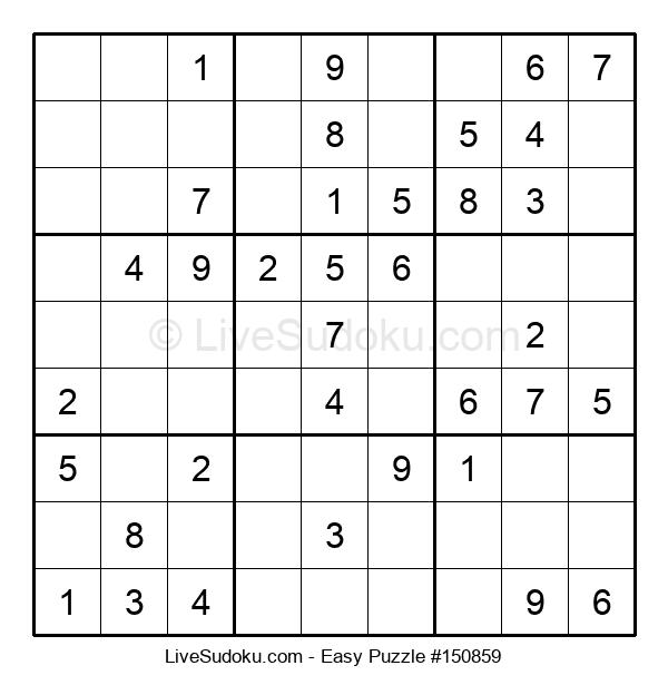 Beginners Puzzle #150859