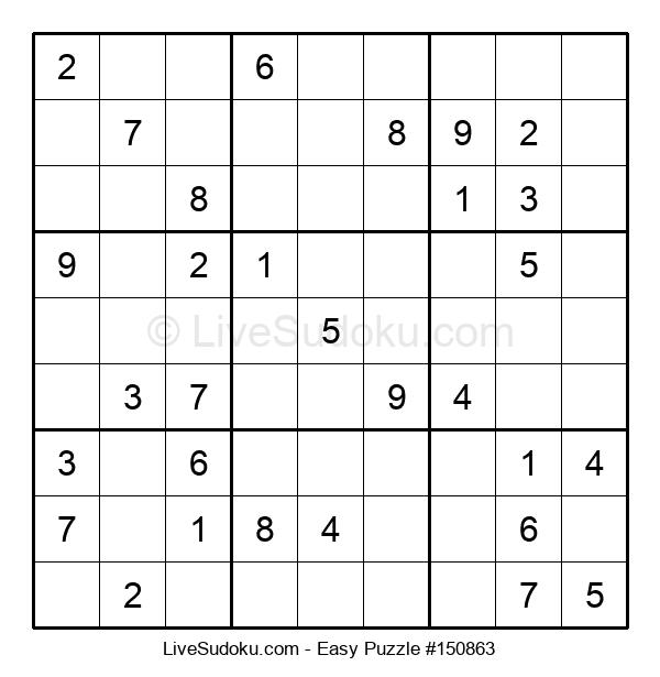 Beginners Puzzle #150863