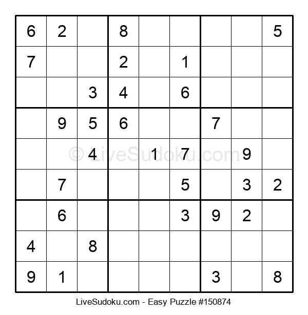 Beginners Puzzle #150874