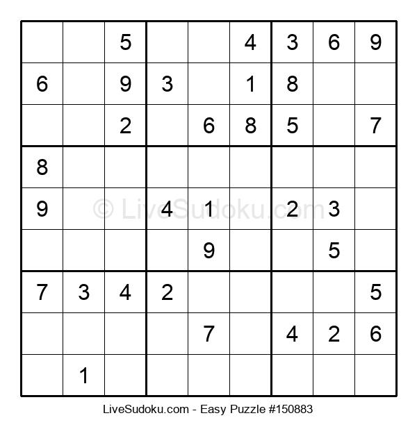Beginners Puzzle #150883