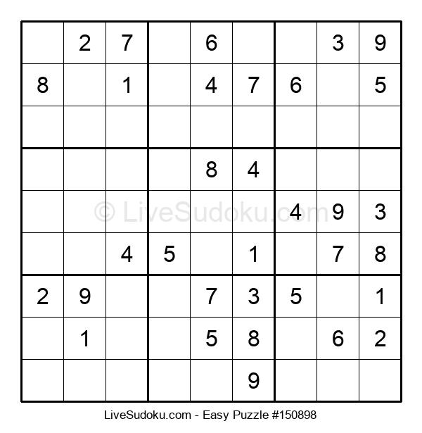 Beginners Puzzle #150898