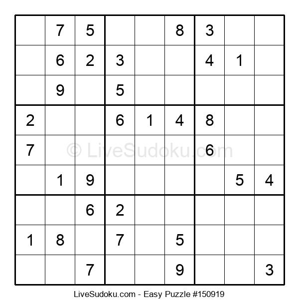 Beginners Puzzle #150919