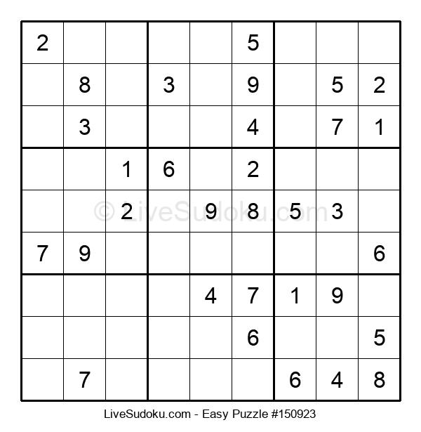 Beginners Puzzle #150923