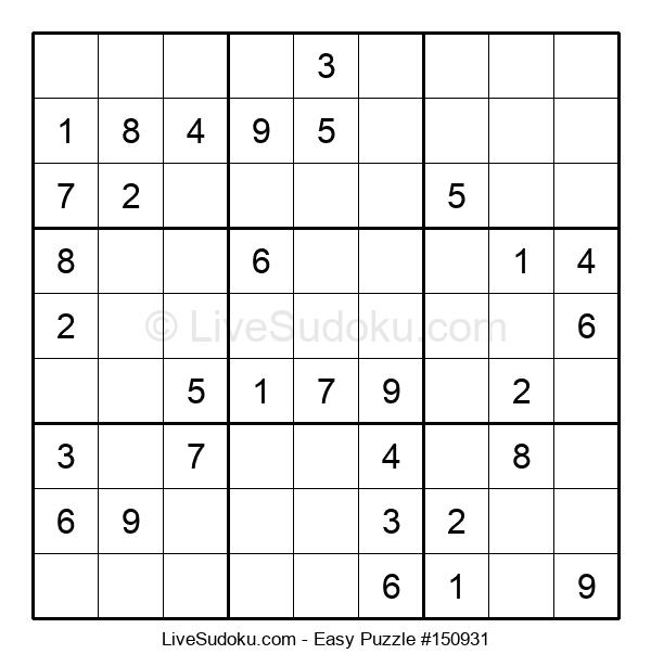 Beginners Puzzle #150931