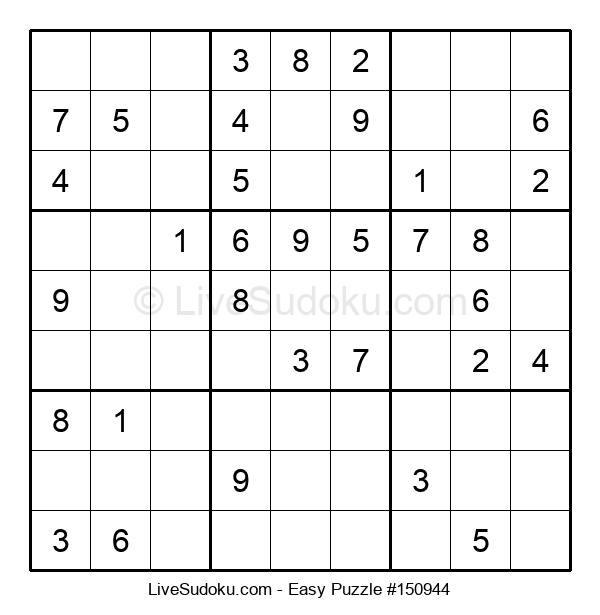Beginners Puzzle #150944