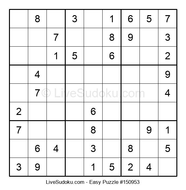 Beginners Puzzle #150953