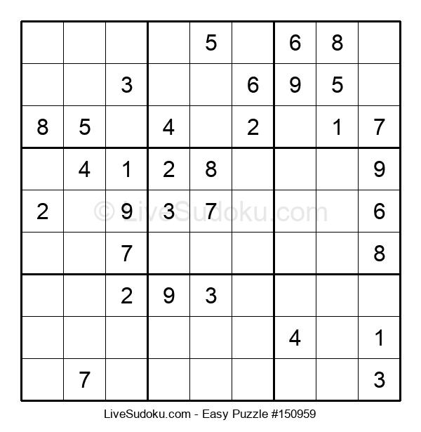 Beginners Puzzle #150959