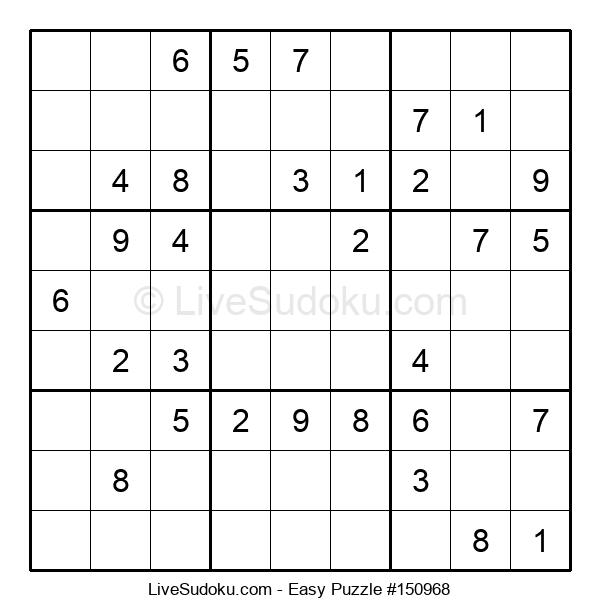 Beginners Puzzle #150968