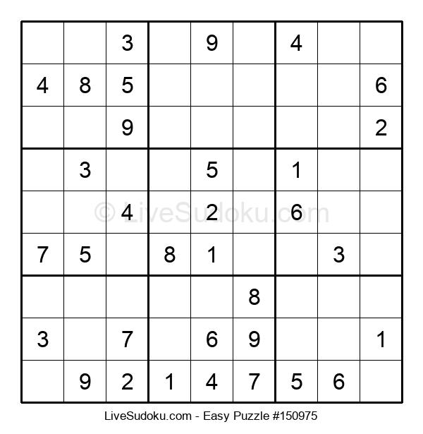 Beginners Puzzle #150975