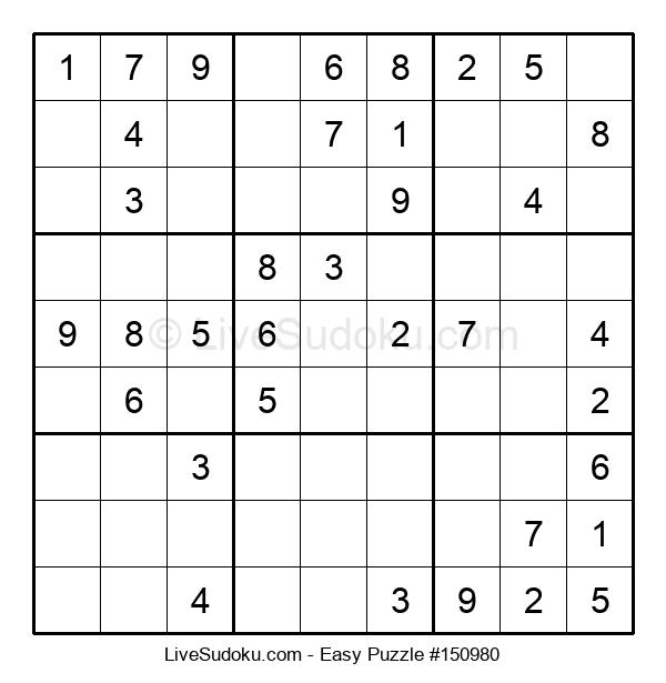 Beginners Puzzle #150980