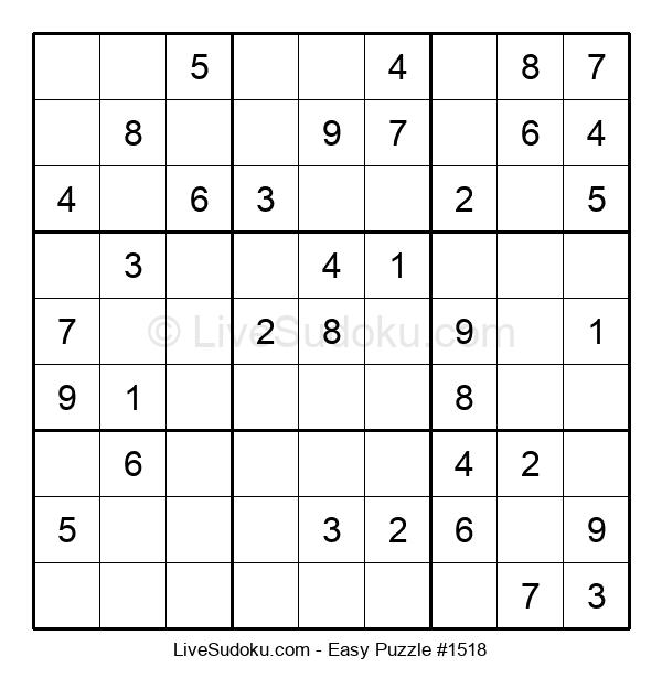 Beginners Puzzle #1518