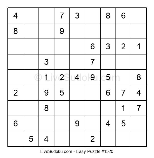 Beginners Puzzle #1520