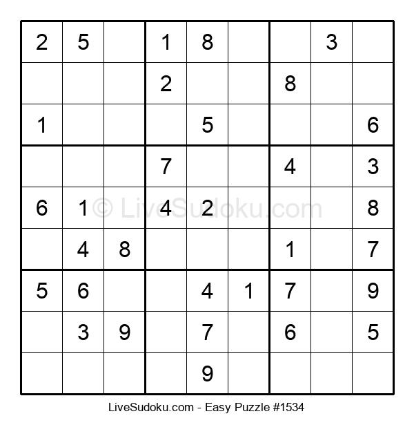 Beginners Puzzle #1534