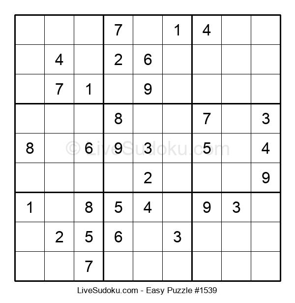 Beginners Puzzle #1539