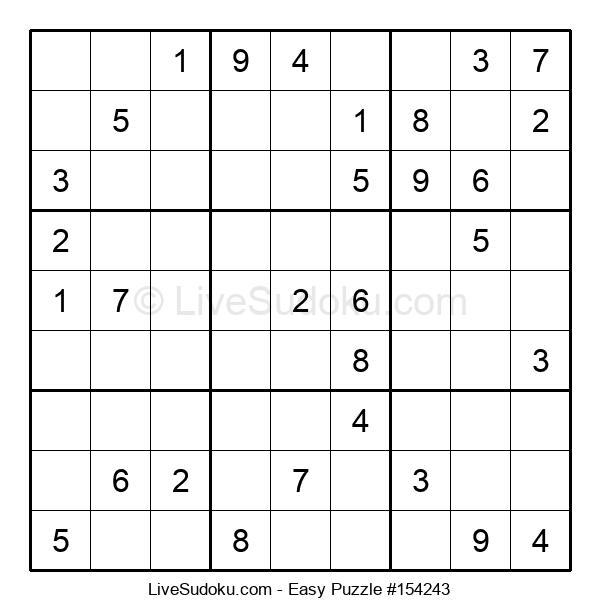 Beginners Puzzle #154243