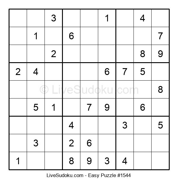 Beginners Puzzle #1544