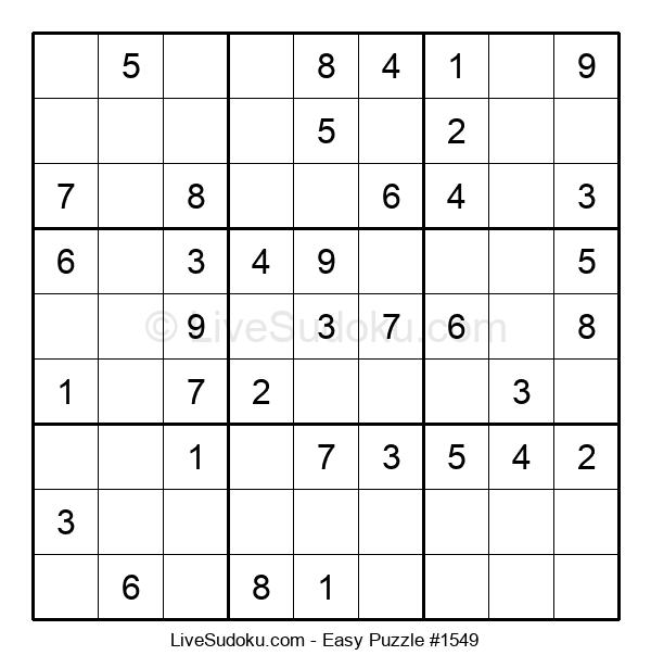 Beginners Puzzle #1549