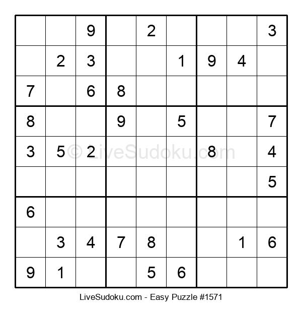 Beginners Puzzle #1571