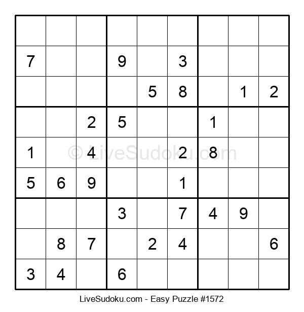 Beginners Puzzle #1572