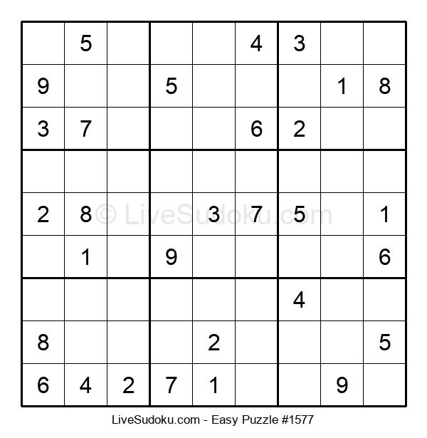 Beginners Puzzle #1577