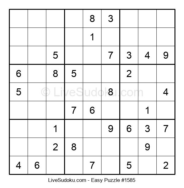Beginners Puzzle #1585