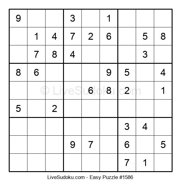 Beginners Puzzle #1586