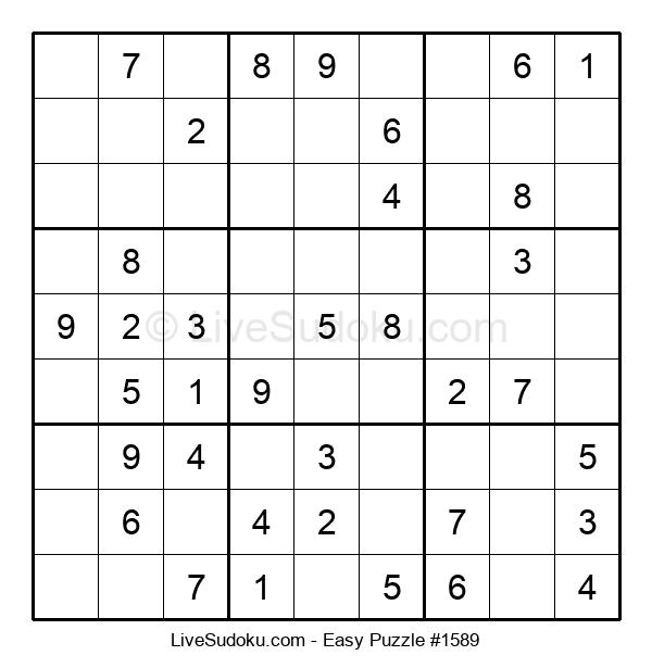 Beginners Puzzle #1589