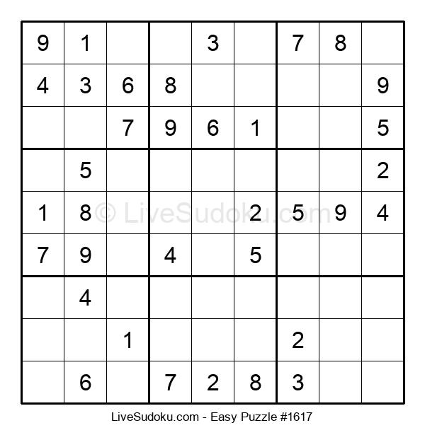 Beginners Puzzle #1617