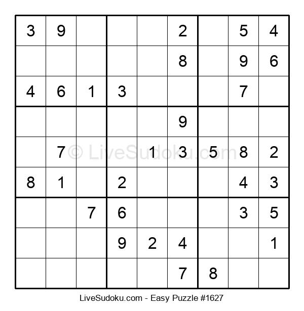 Beginners Puzzle #1627