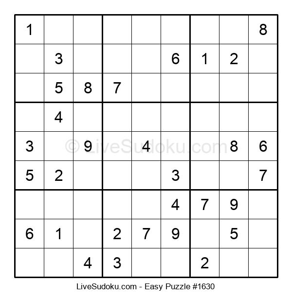 Beginners Puzzle #1630