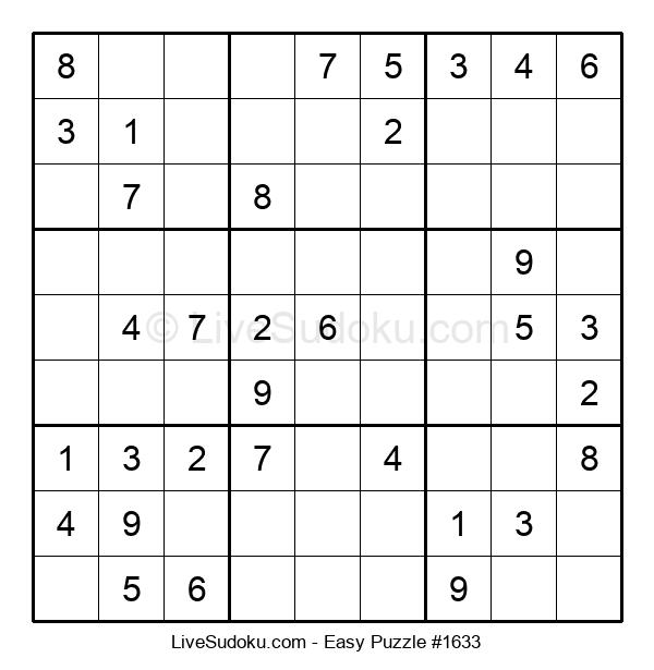 Beginners Puzzle #1633