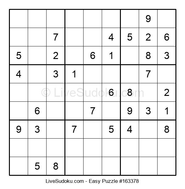 Beginners Puzzle #163378