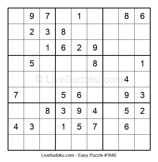 Beginners Puzzle #1640