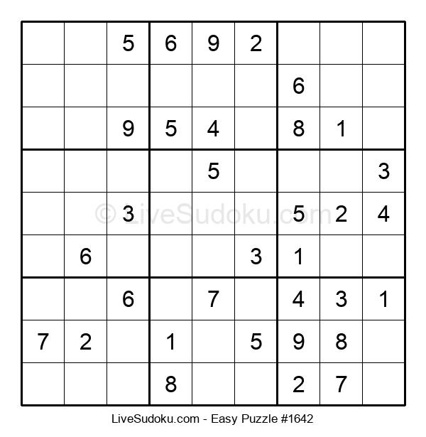 Beginners Puzzle #1642