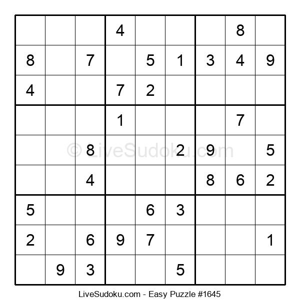 Beginners Puzzle #1645