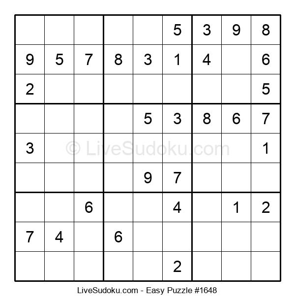 Beginners Puzzle #1648