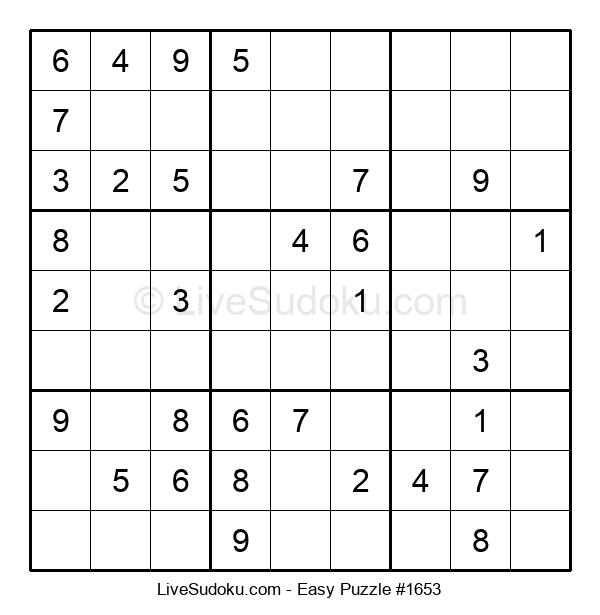 Beginners Puzzle #1653