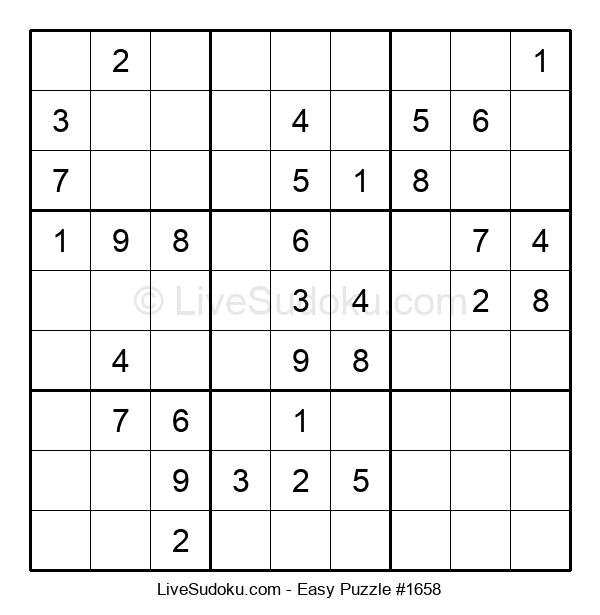 Beginners Puzzle #1658