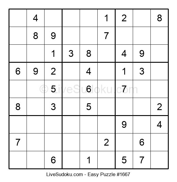 Beginners Puzzle #1667