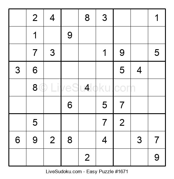 Beginners Puzzle #1671