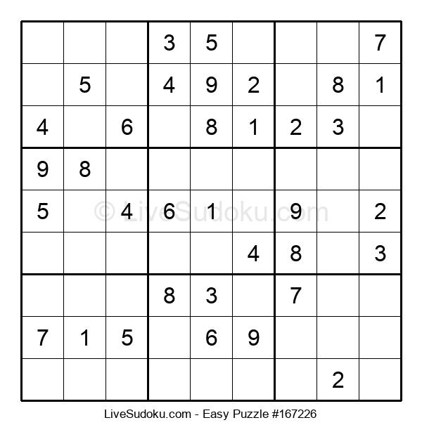 Beginners Puzzle #167226