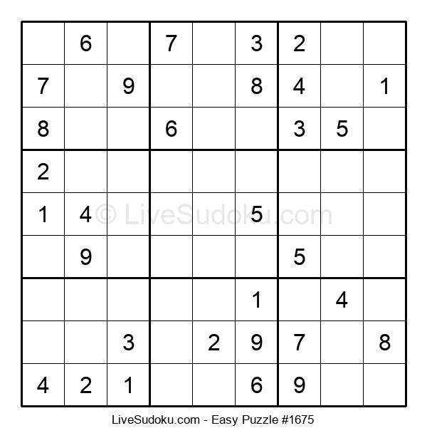 Beginners Puzzle #1675